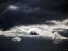 Sturm über dem Nord-Ostsee-Kanal