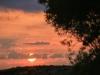 Sonnenuntergang am ersten Abend