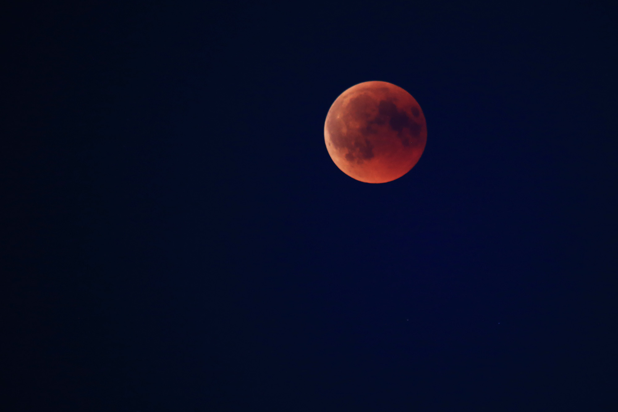 27.07.2018: blood moon 1