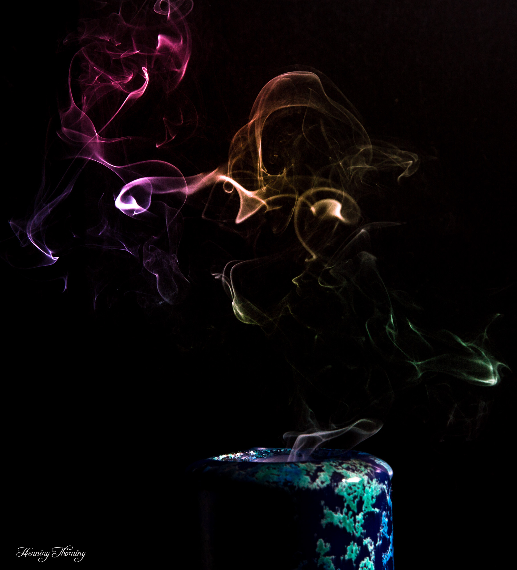 colored smoke III