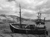 old fisherboat at Ardgour Inn