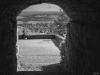 through the gate