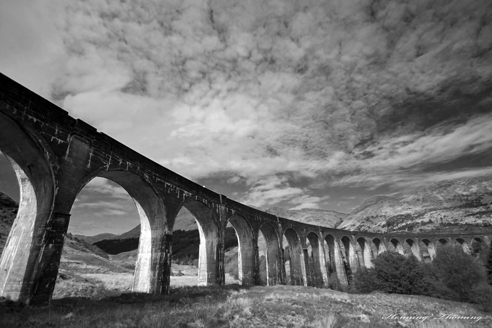 Viadukt nahe Fort William