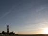 Westerhever im Sonnenuntergang